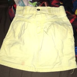 Other - Little yellow skirt jeans